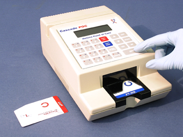 cpt code for home inr machine